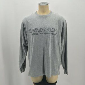 Gildan Up Staging Graphic Tee Shirt Long Sleeve Ch